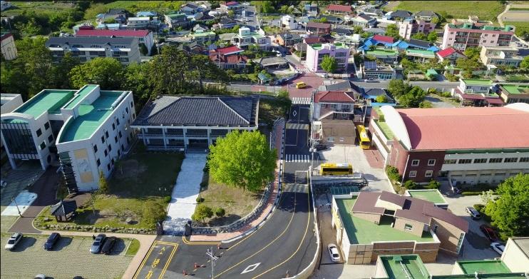 진도초등학교 통학로 도시계획도로 정비사업 이미지
